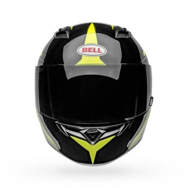 Motorrad Integral Helm BELL HELMETS Qualifier Flare Black Yellow