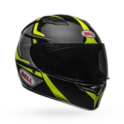 Motorrad Integral Helm BELL HELMETS Qualifier Flare Black Yellow