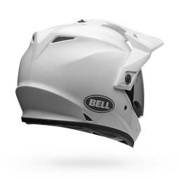 Motorradhelm Bell Helmets MX-9 Adventure Mips White