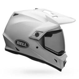 Casco Moto Off Road Bell Helmets MX-9 Adventure Mips White, Cascos Enduro