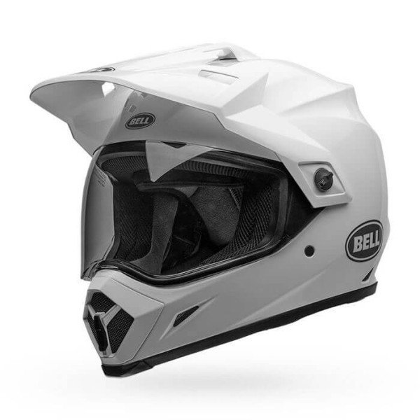 Casco Moto Off Road Bell Helmets MX-9 Adventure Mips White