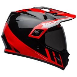 Motorradhelm Bell Helmets MX-9 Adventure Mips Dash Red, Endurohelme
