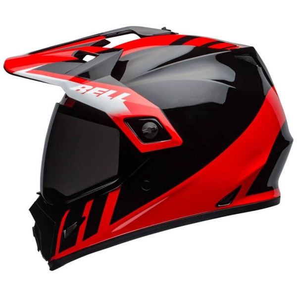 Motorradhelm Bell Helmets MX-9 Adventure Mips Dash Red