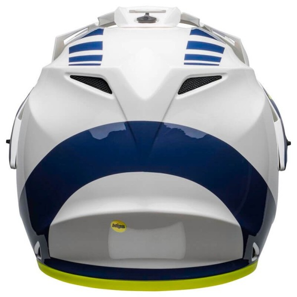 Casque Moto Bell Helmets MX-9 Adventure Mips Dash White