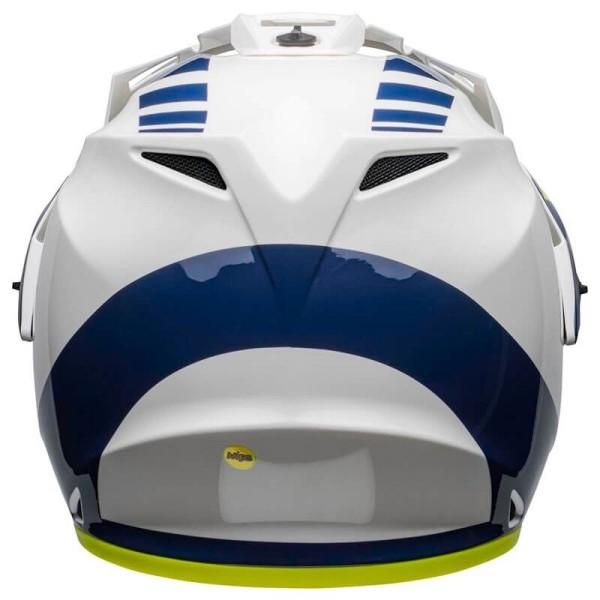 Motorcycle Helmet Bell Helmets MX-9 Adventure Mips Dash White