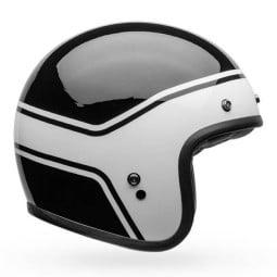 Motorrad Helm Jet Vintage Bell Helmets Custom 500 Streak ,Jet Helme