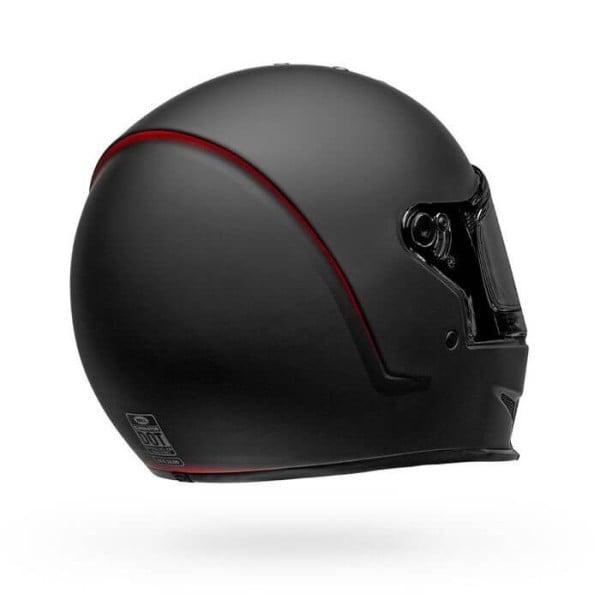 Motorcycle Helmet Bell Helmets Eliminator Vanish Black Red