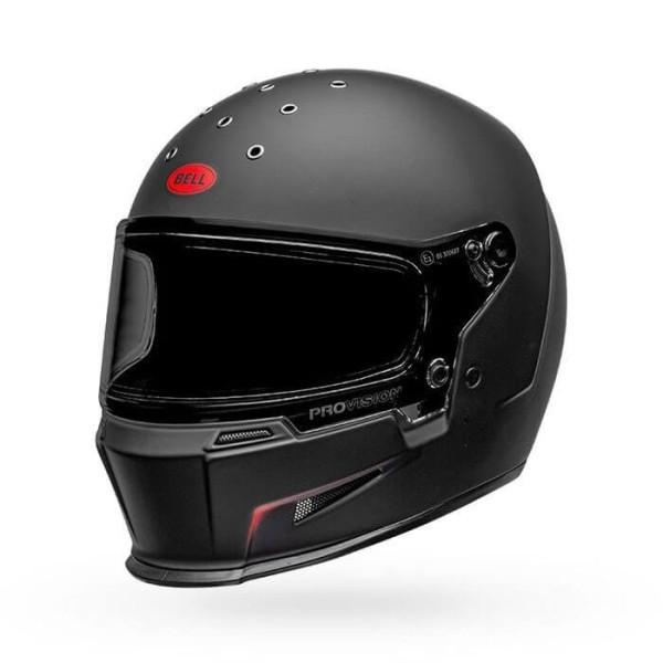 Casco de Moto Bell Helmets Eliminator Vanish Black Red