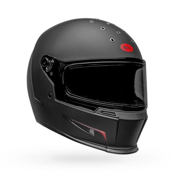 Casque Moto Bell Helmets Eliminator Vanish Black Red