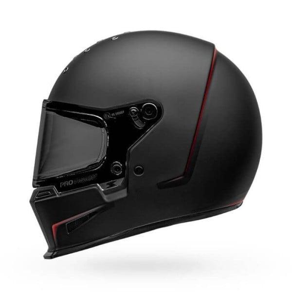 Motorrad Helm Bell Helmets Eliminator Vanish Black Red