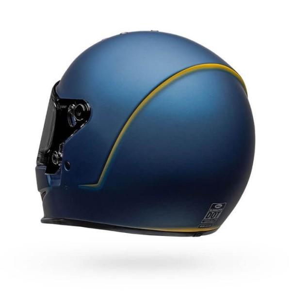 Motorcycle Helmet Bell Helmets Eliminator Vanish Blue Yellow