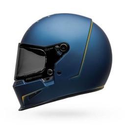 Motorcycle Helmet Bell Helmets Eliminator Vanish Blue Yellow ,Helmets Full Face