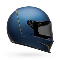 Casco Moto Bell Helmets Eliminator Vanish Blue Yellow, Caschi Integrali