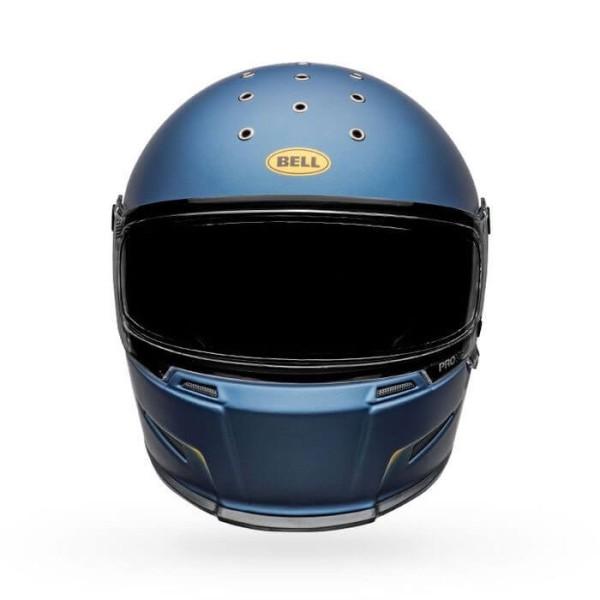 Motorrad Helm Bell Helmets Eliminator Vanish Blue Yellow