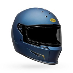 Casque Moto Bell Helmets Eliminator Vanish Blue Yellow