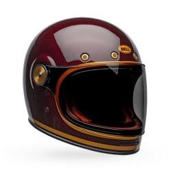 Casco Moto Vintage Bell Helmets Bullitt Carbon Transcend, Caschi Vintage