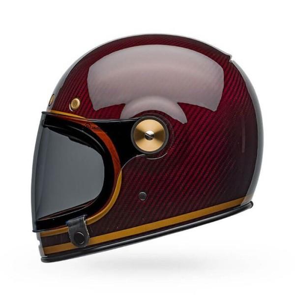 Motorrad Helm Vintage Bell Helmets Bullitt Carbon Transcend