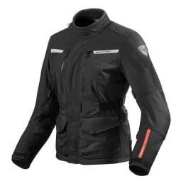 Motorcycle Fabric Jacket REVIT Horizon 2 Woman Black ,Motorcycle Textile Jackets