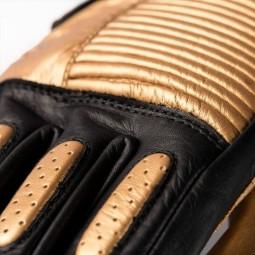 Motorrad-Handschuhe Blauer HT Banner Black Gold