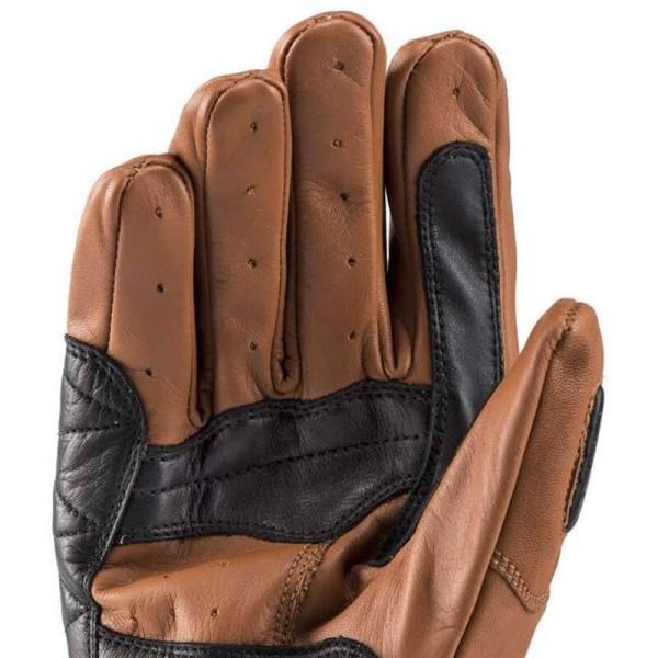 Motorrad-Handschuhe Blauer HT Banner Biscuit Black