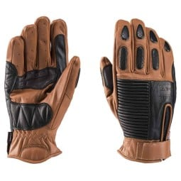 Motorcycle Leader Gloves Blauer HT Banner Biscuit Black ,Motorcycle Leather Gloves