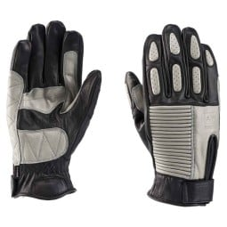 Motorcycle Leader Gloves Blauer HT Banner Black Grey ,Motorcycle Leather Gloves
