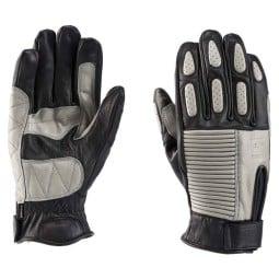 Motorrad-Handschuhe Blauer HT Biscuit Black Grey ,Motorrad Lederhandschuhe