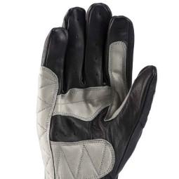 Gants Moto Cuir Blauer HT Banner Black Grey