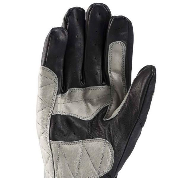Motorcycle Leader Gloves Blauer HT Banner Black Grey