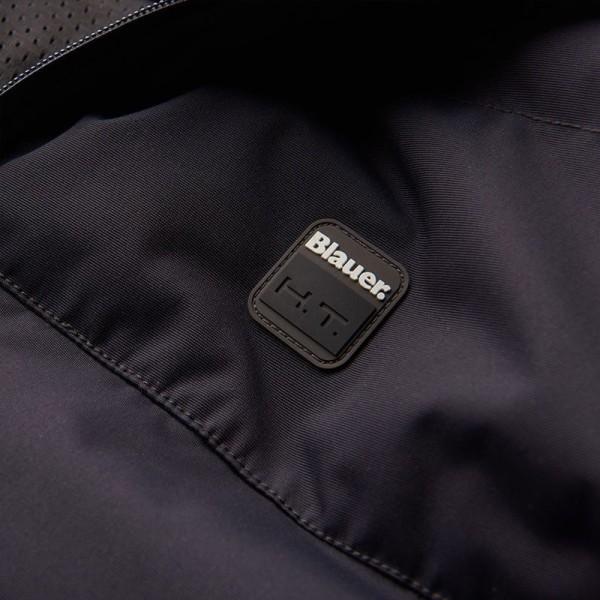 Blouson Moto Tissu BLAUER HT Easy Winter 2.0 Bleu