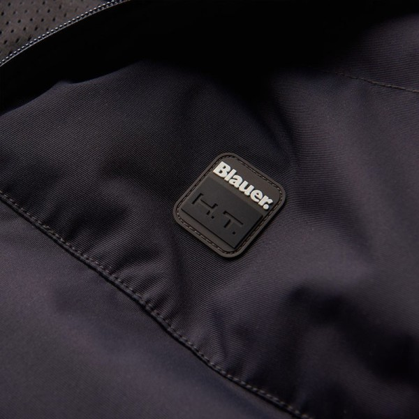 Motorcycle Fabric Jacket BLAUER HT Easy Winter 2.0 Blue