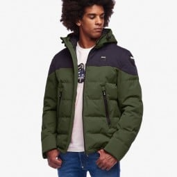 Motorcycle Fabric Jacket BLAUER HT Easy Winter 2.0 Green Blue ,Motorcycle Textile Jackets