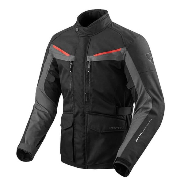 Motorcycle Fabric Jacket REVIT Safari 3 Black Anthracite ,Motorcycle Textile Jackets