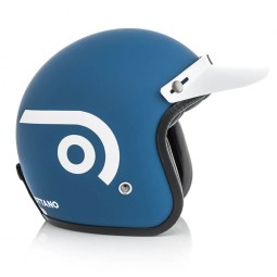Casco de Moto Ottano Acerbis Jet Light blue