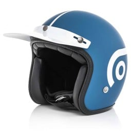 Motorcycle Helmet Ottano Acerbis Jet Light blue
