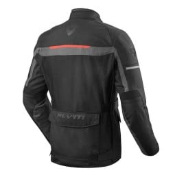 Motorcycle Fabric Jacket REVIT Safari 3 Black Anthracite