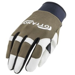 Motorcycle Gloves Ottano Acerbis Green White ,Motorcycle Textile Gloves