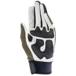 Motorcycle Gloves Ottano Acerbis Green White, Motorcycle Gloves
