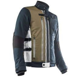Motorcycle Jacket Ottano Acerbis Jacket Blue Green