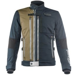 Motorcycle Jacket Ottano Acerbis Jacket Blue Green ,Motorcycle Textile Jackets