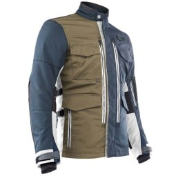 Motorcycle Jacket Ottano Acerbis Adventuring Blue