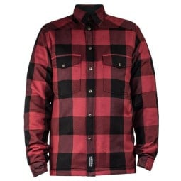 Motorcycle Shirt John Doe JDM Motoshirt XTM Red ,Motorcycle Textile Jackets
