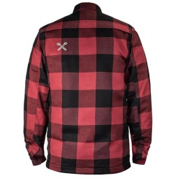 Camicia Moto John Doe JDM Motoshirt XTM Red, Giubbotti e Giacche Tessuto Moto