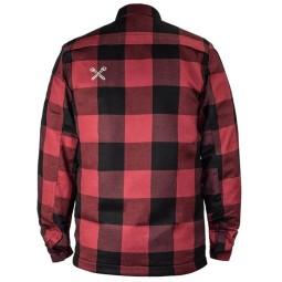 Chemise Moto John Doe JDM Motoshirt XTM Red ,Blousons et Vestes Moto Tissu