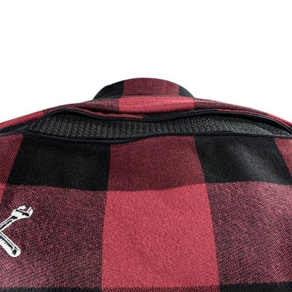 Chemise Moto John Doe JDM Motoshirt XTM Red