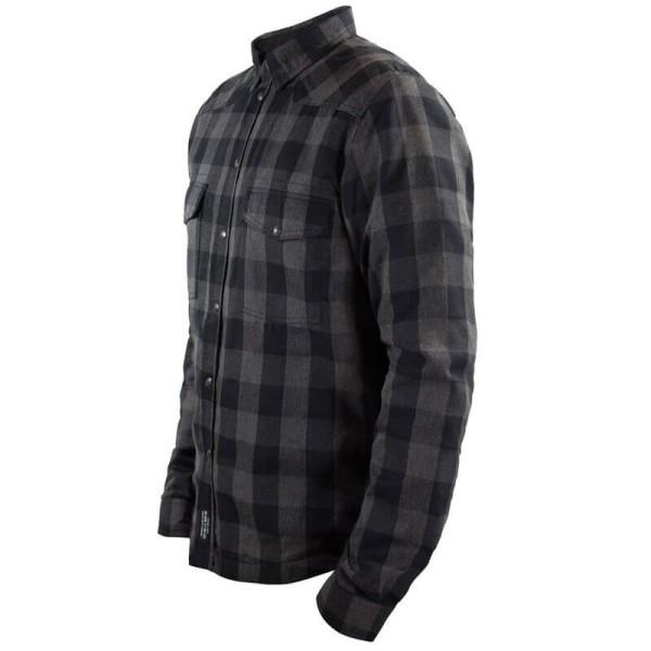 Chemise Moto John Doe JDM Motoshirt XTM Grey