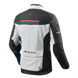 Motorcycle Fabric Jacket REVIT Safari 3 Silver Blue ,Motorcycle Textile Jackets
