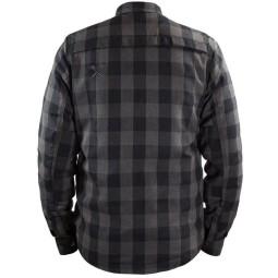 Camicia Moto John Doe JDM Motoshirt XTM Grey, Giubbotti e Giacche Tessuto Moto