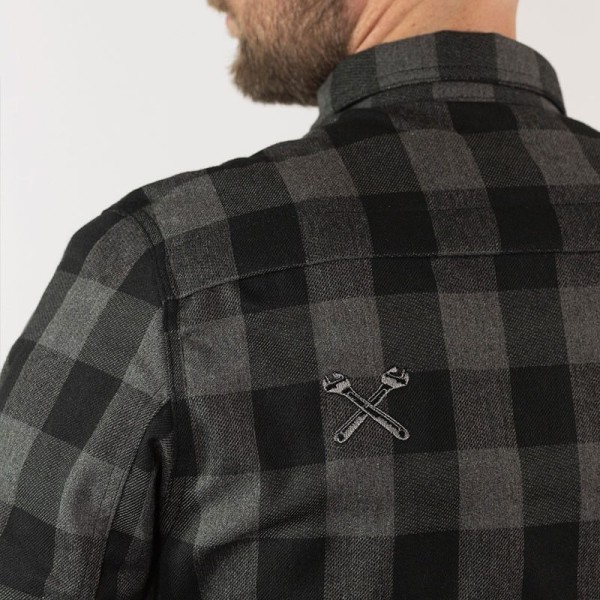Motorcycle Shirt John Doe JDM Motoshirt XTM Grey