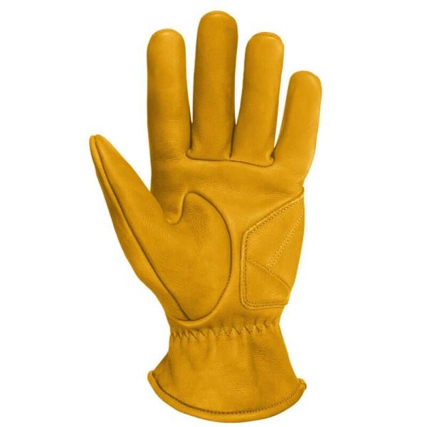 Guantes Cuero Moto John Doe Grinder Yellow
